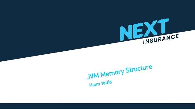 Haim Yadid JVM Memory Structure
