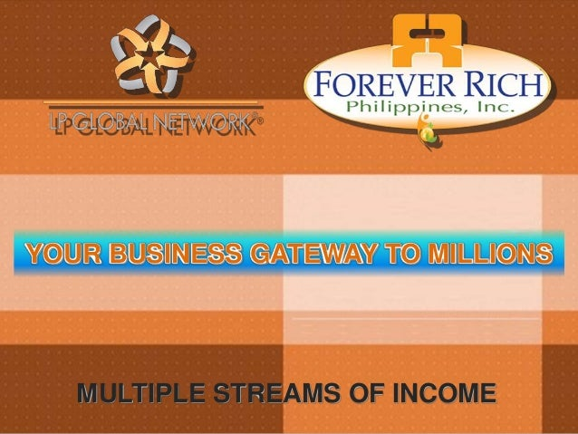 YOUR BUSINESS GATEWAY TO MILLIONS MULTIPLE STREAMS OF INCOME