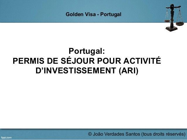 Jvs.golden visa ppt Slide 2