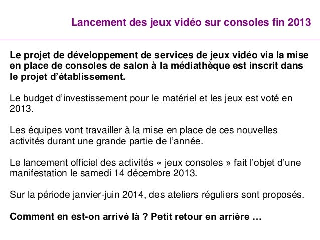 L'offre de jeux vidéo à la médiathèque de Villepinte Slide 3