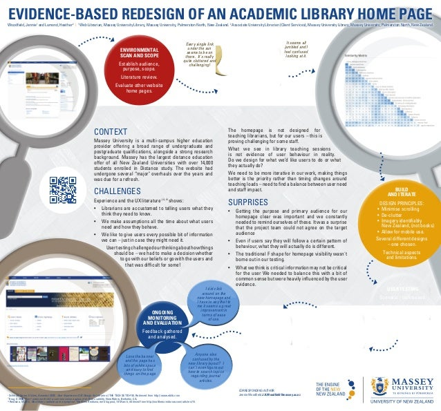 Evidence-based redesign of an academic library homepage