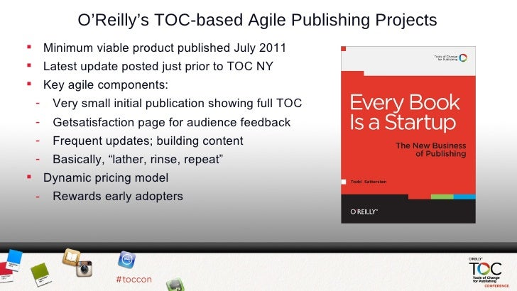 O'Reilly Agile Publishing Slides