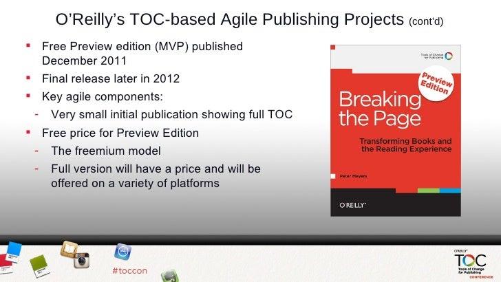 O'Reilly Agile Publishing Slides Slide 3