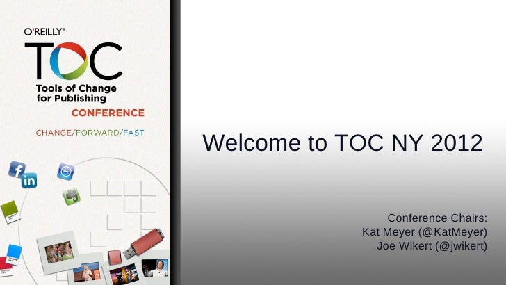 TOC Welcome Session Slides