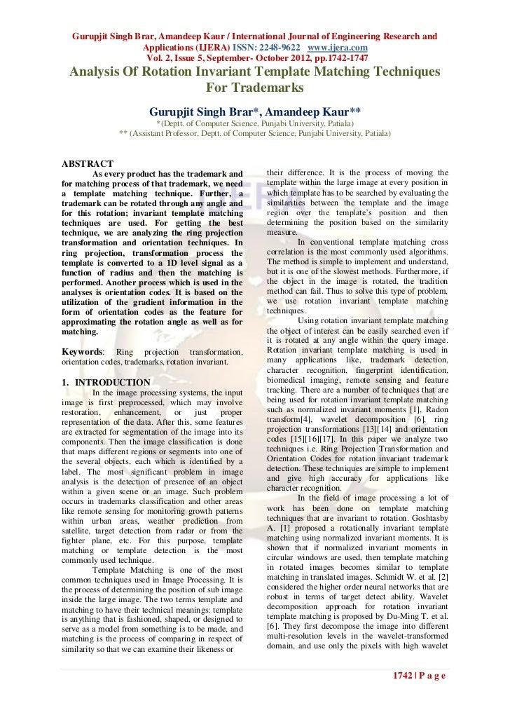 Gurupjit Singh Brar, Amandeep Kaur / International Journal of Engineering Research and                   Applications (IJE...