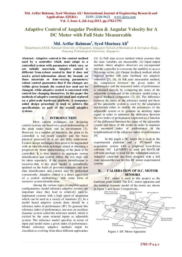 Md. Arifur Rahman, Syed Muztuza Ali / International Journal of Engineering Research and Applications (IJERA) ISSN: 2248-96...