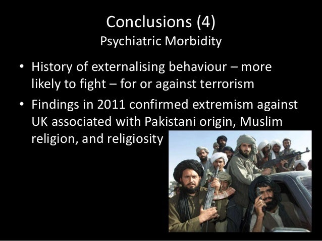 Extremism, Religion, and Psychiatric Morbidity: Young men's attitudes towards the war in Afghanistan