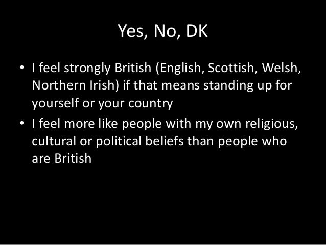 Yes, No, DK • I support the war in Afghanistan • I oppose the war in Afghanistan