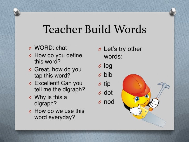 OBJECTIVES:<br />By the end of the lesson, SWBAT:<br />1. name letters quickly and automatically and produce sounds for de...