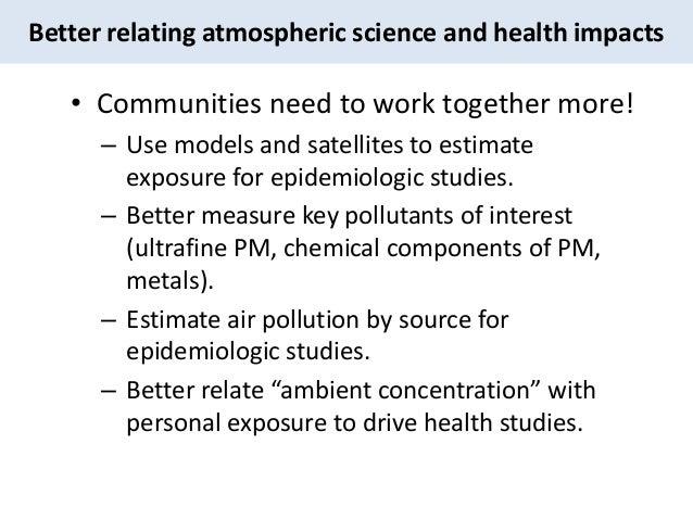 Air Pollution & Health by Jason West, PhD