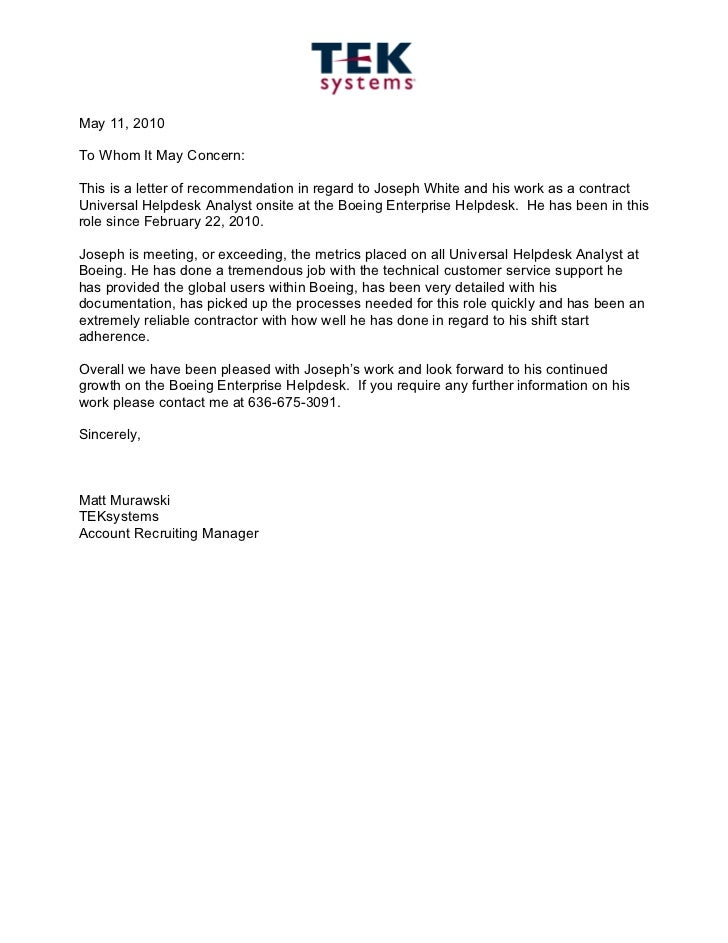 sample letter of recommendation for preschool teacher