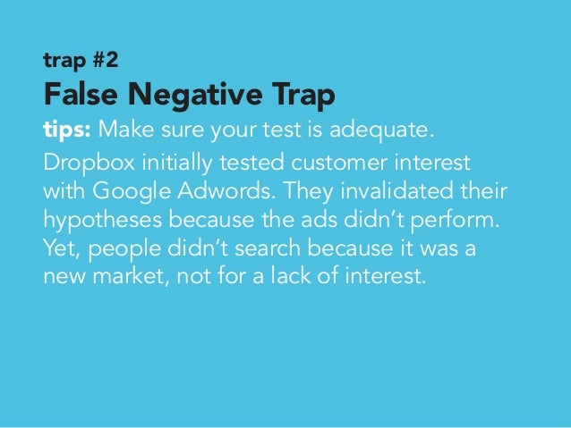 Trap 2 False Negative