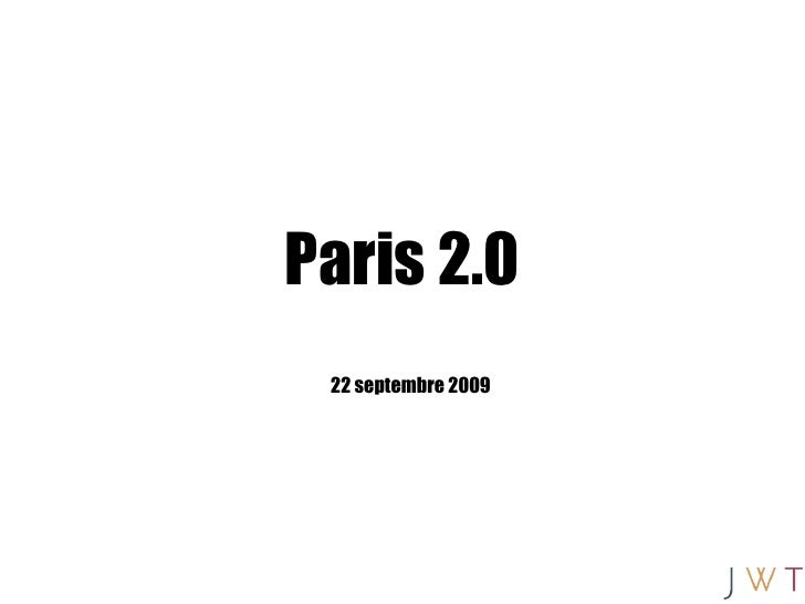Paris 2.0 22 septembre 2009