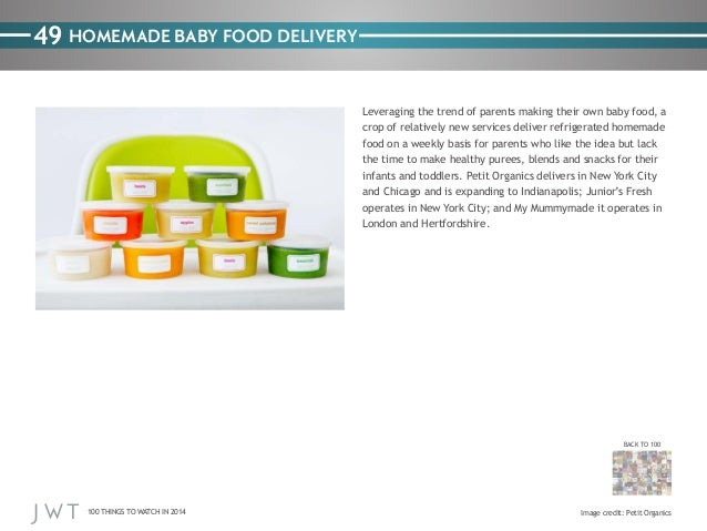 49 HOMEMADE BABY FOOD DELIVERY