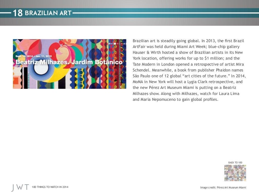 18 BRAZILIAN ART Brazilian art
