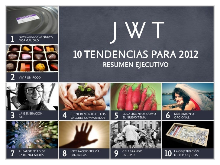 NAVEGANDO LA NUEVA1   NORMALIDAD                              10 TENDENCIAS PARA 2012                                     ...