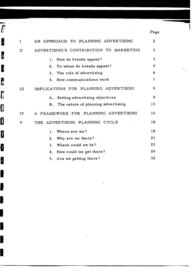 Stephen King, JWT Planning Guide, March 1974 Slide 2