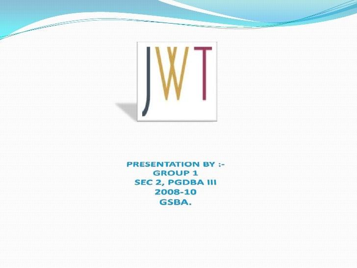 Jwt Presentation
