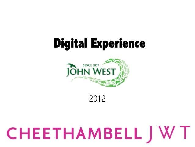 Digital Experience      2012