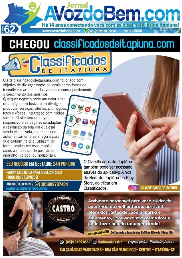 Edição 62 do Jornal avozdobem.com