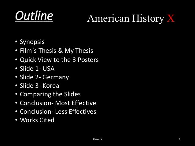 american history thesis