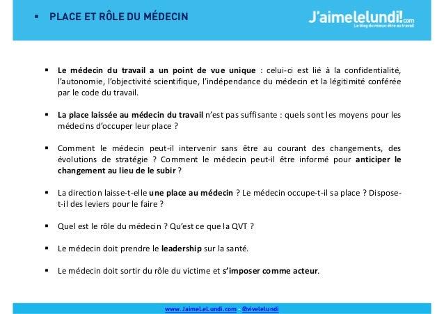 2014 Barcamp Medecine Du Travail Et Qvt Qualite De Vie Au Travai