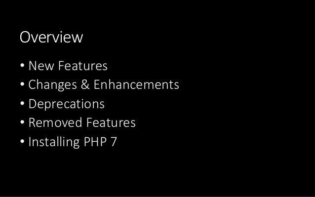 PHP 7 Crash Course Slide 3