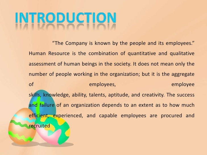 Reflective Paper: Human Resources Management