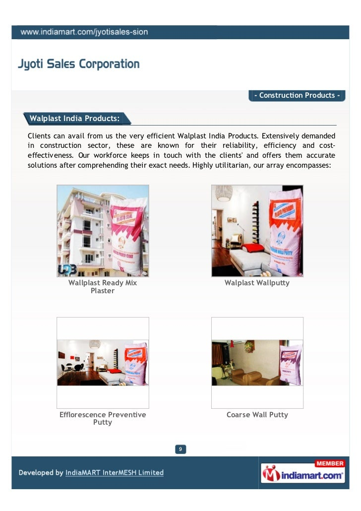 expense wallplast Pioneers in the industry, we offer walplast crack filler, walplast gypsum plaster   cost-effective quick drying saves time the surface must be free from dust, oil,.