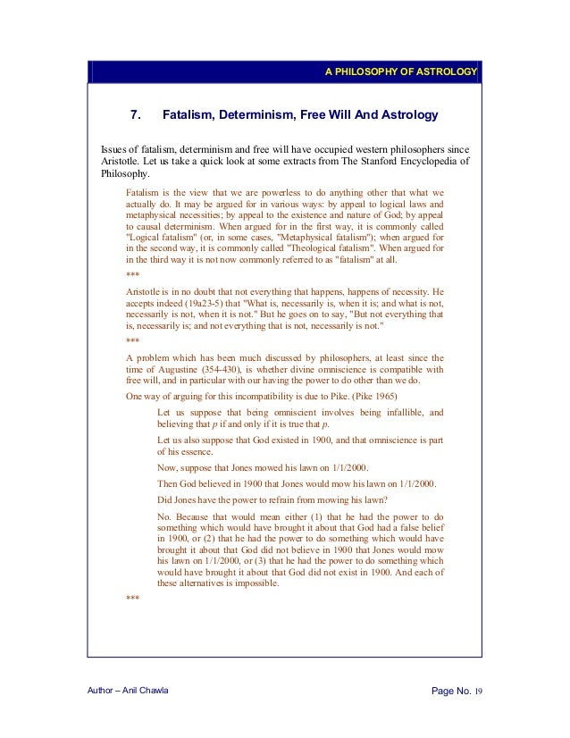 the philosophy of astrology pdf