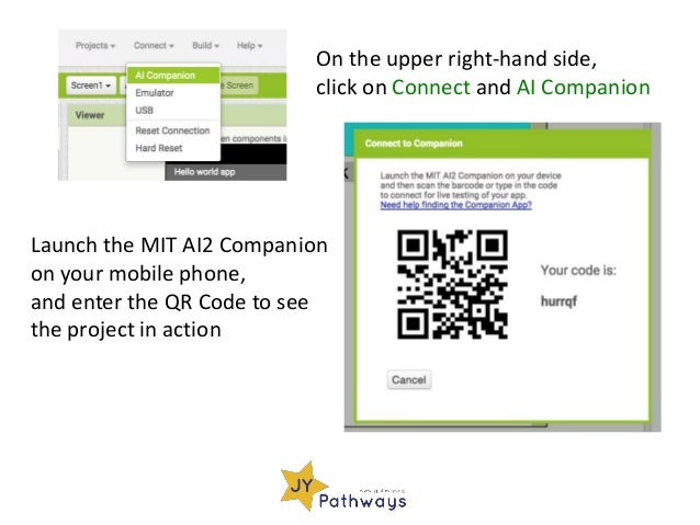 JY Pathways: Program Android Apps with MIT App Inventor 2