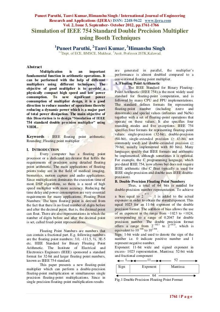 Puneet Paruthi, Tanvi Kumar, Himanshu Singh / International Journal of Engineering             Research and Applications (...