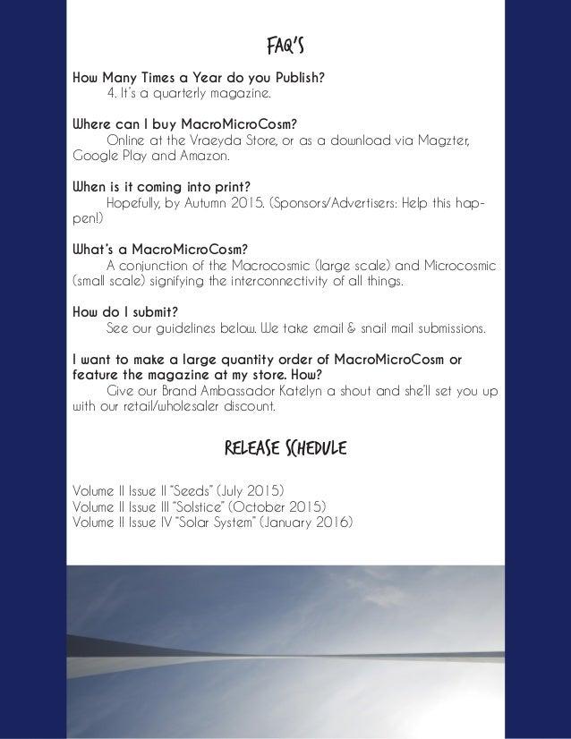 MacroMicroCosm Press Kit