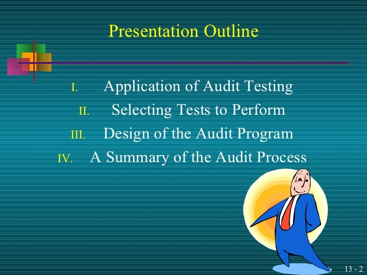 audit auditing and substantive tests Chapter 10 substantive tests in the revenue/receipt cycle 367 audit procedures assertions sales receivables cash balances by planning substantive audit pro.