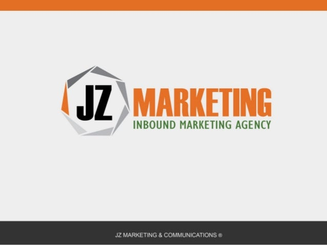 JZ Inbound Marketing Presentation