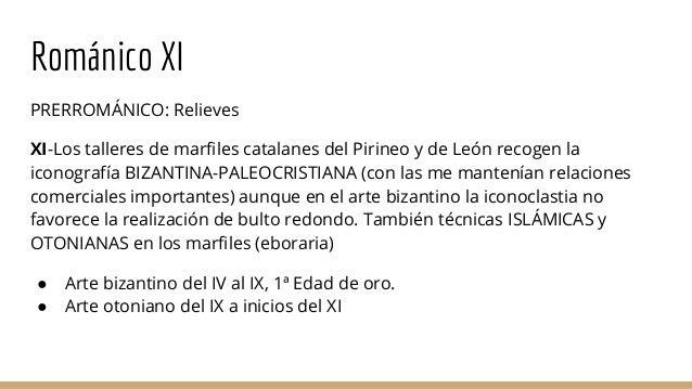 Evolución escultura exenta religiosa XI al XVI Slide 2