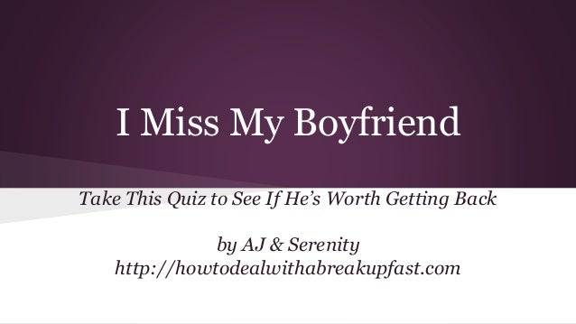 dating site quiz are you over your ex
