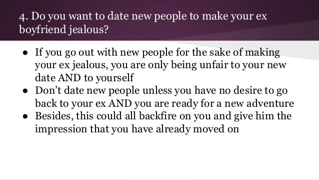 what to do about a jealous boyfriend