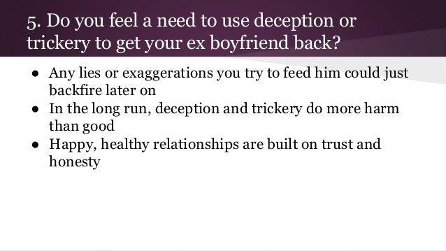 Should i get back with my ex boyfriend quiz