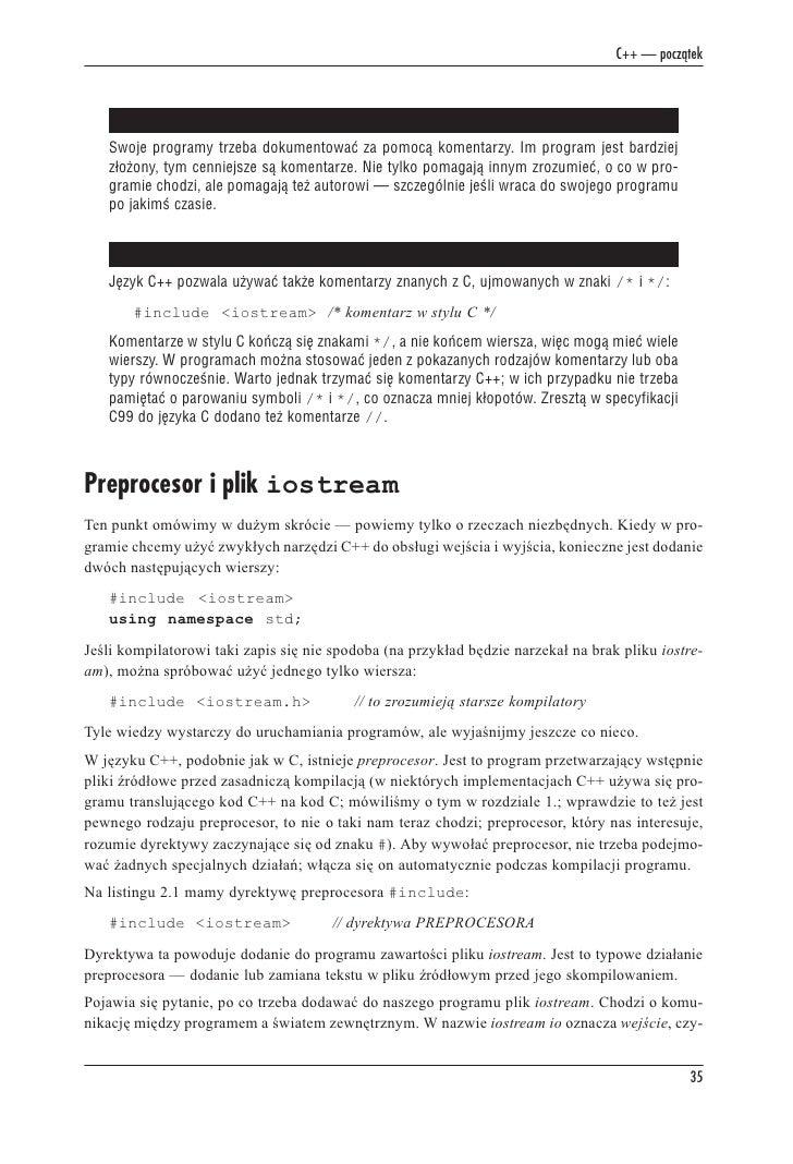 Język C Szkoła Programowania Wydanie V