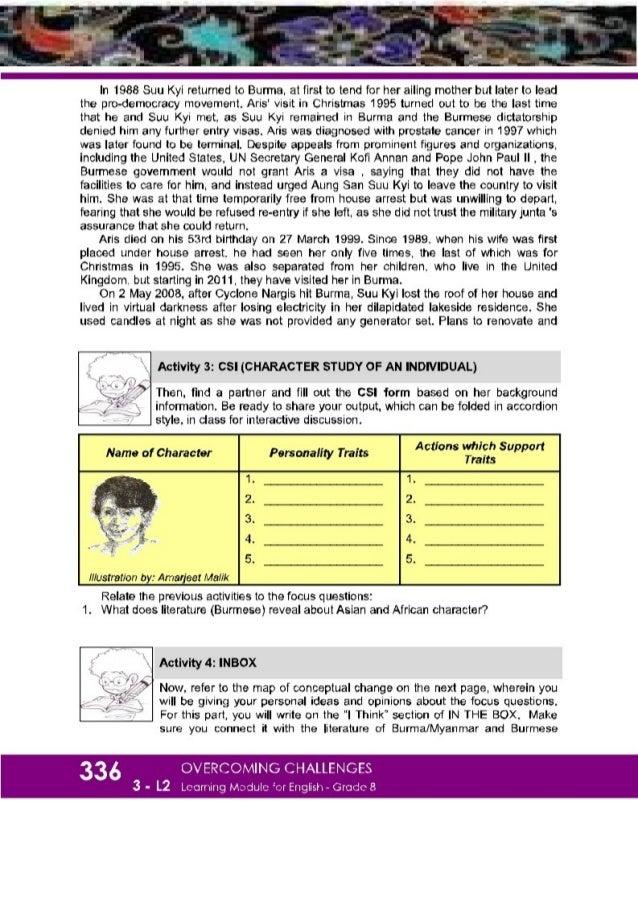 English In Italian: K-12 Grade 8 English Quarter 3 Lesson 2 Module