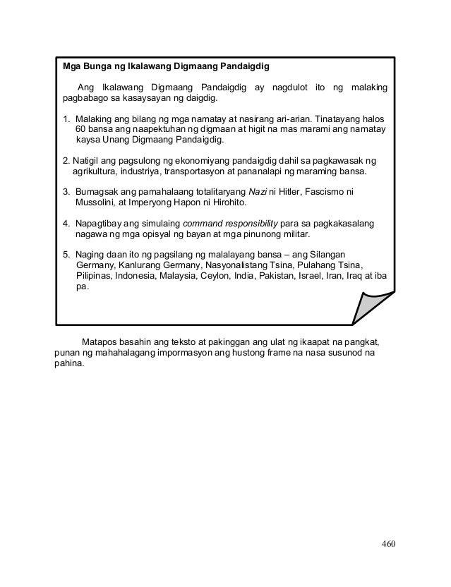 K 12 Kasaysayan ng Daigdig A.P. 9 Module (Fourth Quarter)