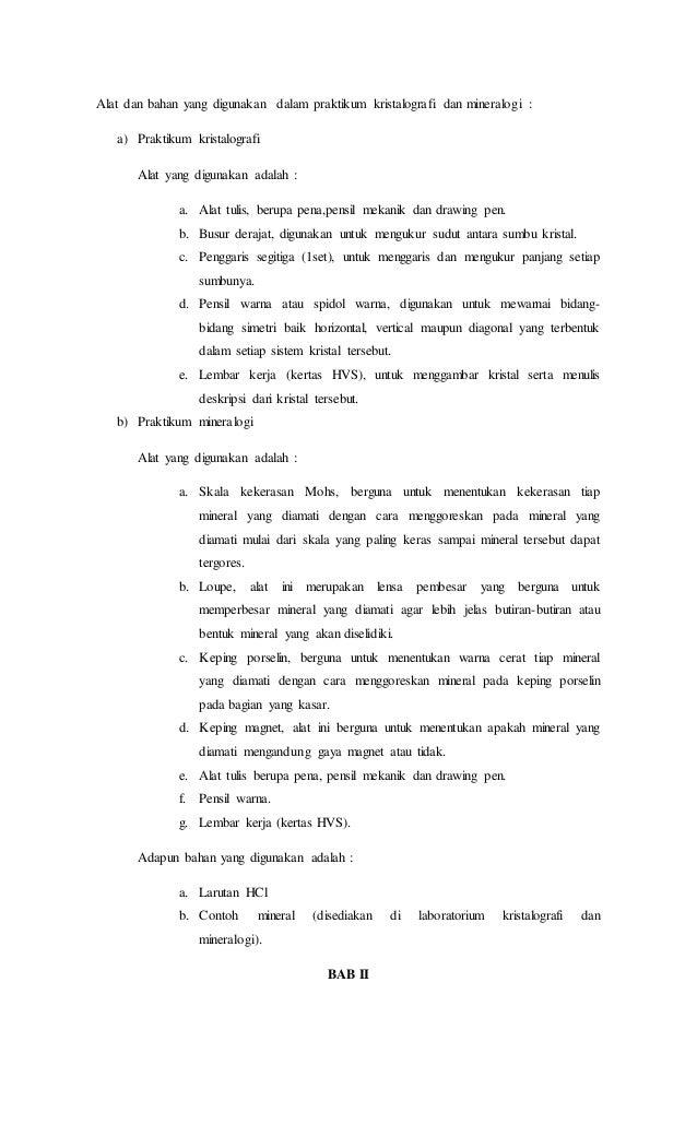 Contoh Laporan Praktikum Contoh Aneka