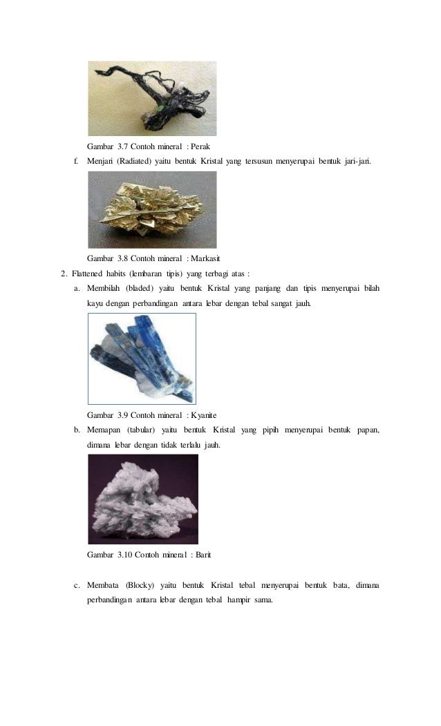 Contoh Laporan Praktikum Kristalografi Dan Mineralogi