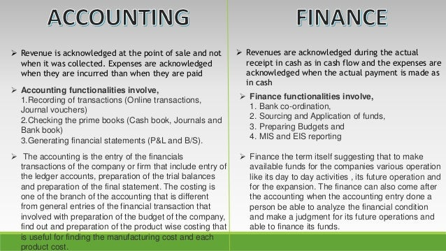 accounting vs finance personality