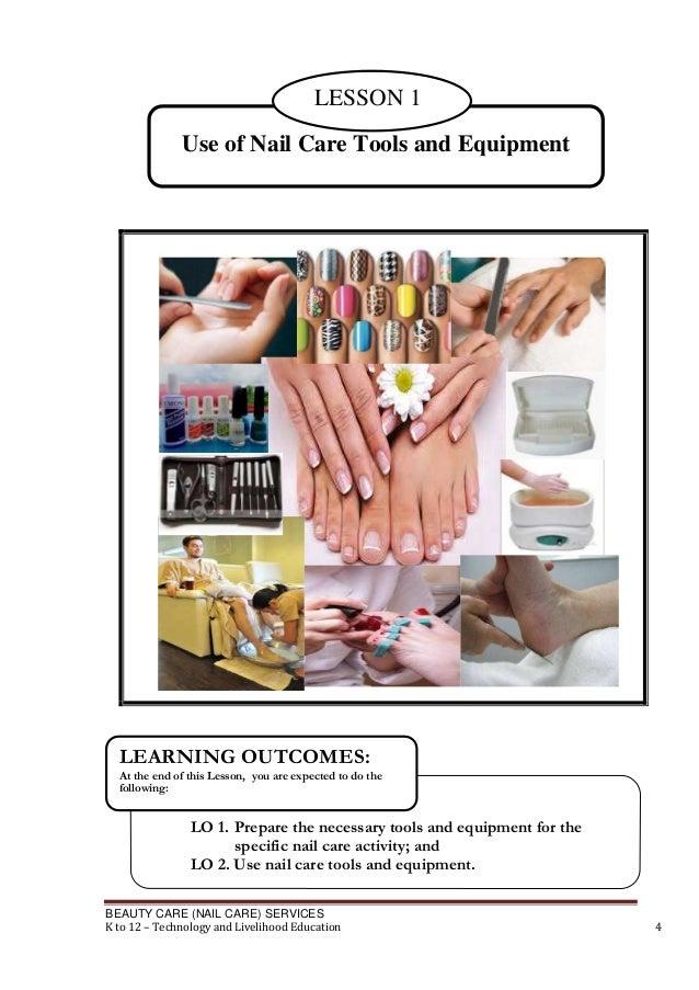 Nail care tle module grade 8