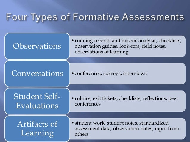 Assessment FOR Learning (Formative): Crucial Distinction; 13.