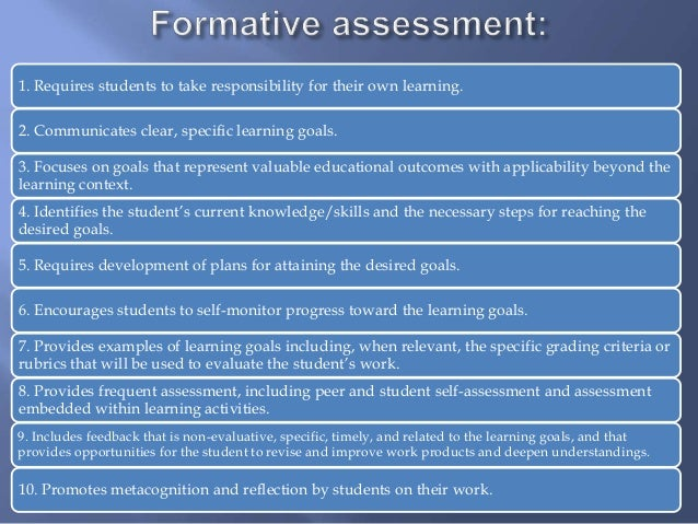 K 2 Formative Assessments March 11