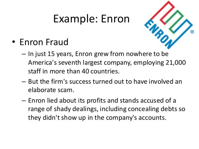 an analysis of the principles of business ethics of the enron corporation An ethical analysis of the enron scandal the enron scandal is one that left a deep and ugly scar on the face of modern business  invested in the corporation after.