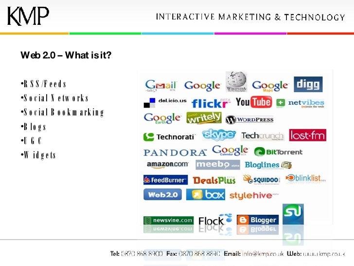 <ul><li>Web 2.0 – What is it?  </li></ul><ul><li>RSS/Feeds </li></ul><ul><li>Social Networks </li></ul><ul><li>Social Book...